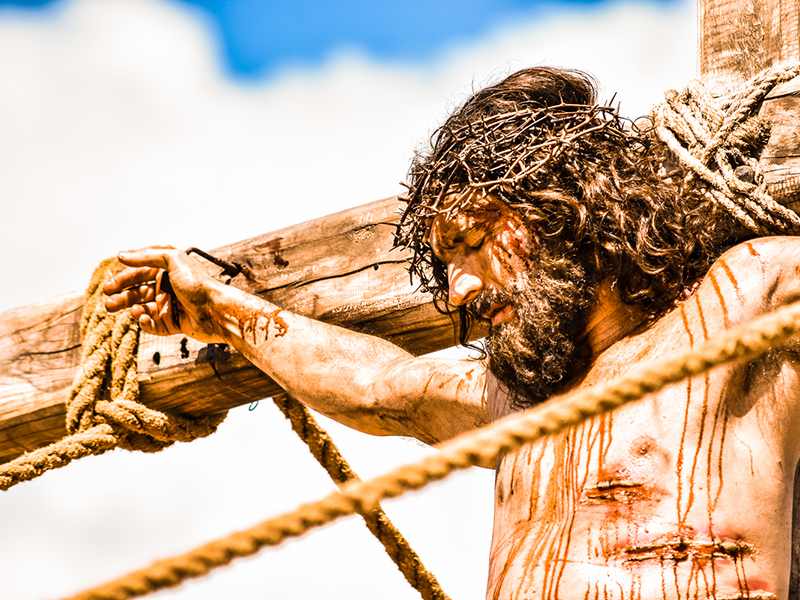 Imagem ilustrativa da paixão de cristo