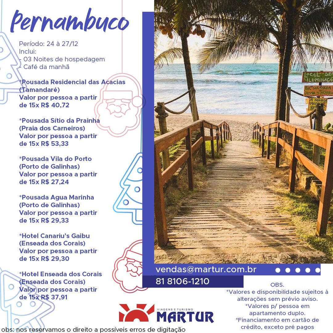 Natal em Pernambuco - 2020